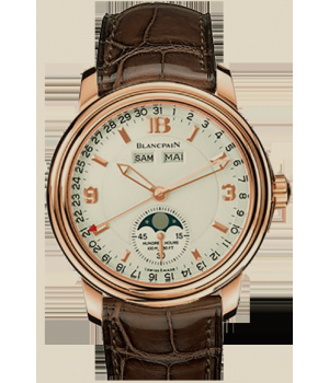Blancpain Léman Moon Phase Complete Calendar 38mm Half-Hunter
