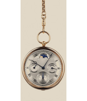 Breguet Classique Complications Ultra-Thin Perpetual Calendar Pocket Watch