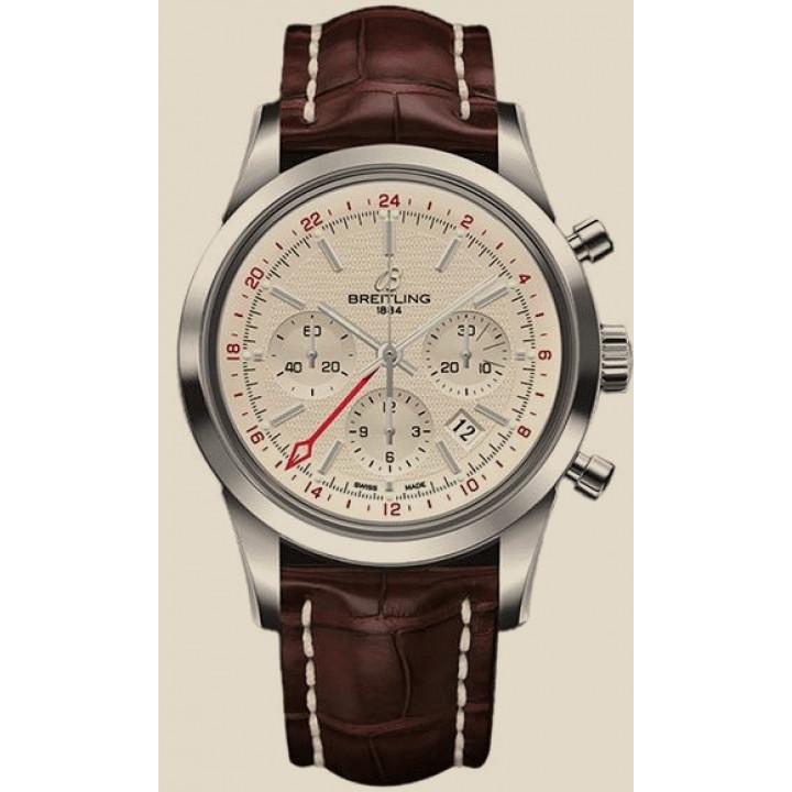 "Breitling TRANSOCEAN Chronograph GMT ""БУ"""