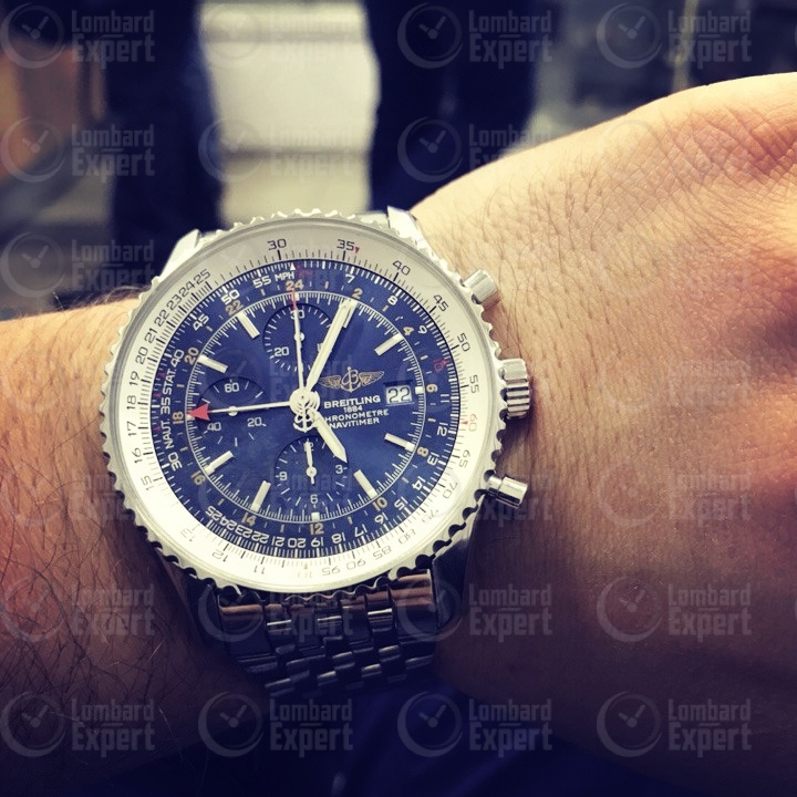 Breitling Navitimer World GMT 46mm