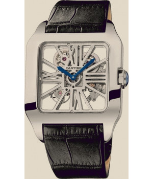 Cartier SANTOS-DUMONT Skeleton White Gold XL
