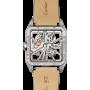 "Cartier SANTOS-DUMONT Skeleton White Gold XL ""БУ"""