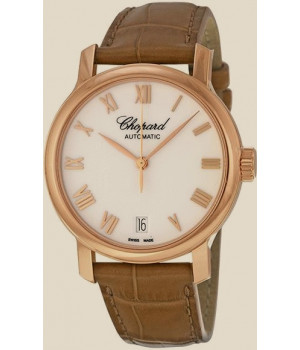 Chopard Classic Watch 18kt Rose Gold Automatic Ladies