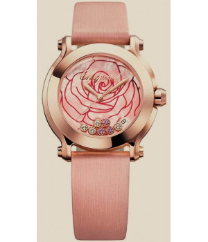 Chopard Happy Sport La Vie En Rose Diamond