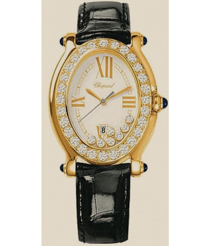 Chopard Happy Sport Oval 7 Diamonds