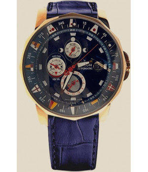 Corum Admiral`s Cup Gold Automatic Chronograph Watch