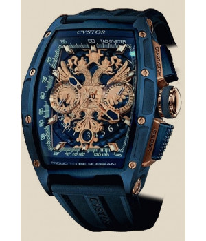 Cvstos Challenge Proud To Be Russian Chrono Blue