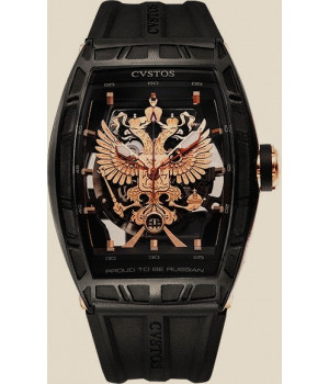 Cvstos Limited Edition Proud be Russian Black Steel PVD