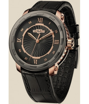 De Witt Twenty-8-Eight Automatic Rose gold with black PVD