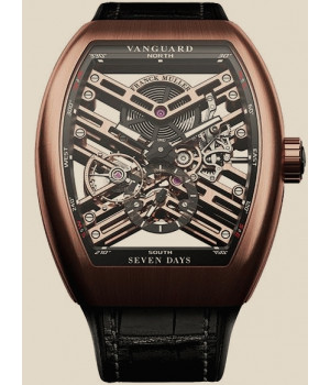 Franck Muller Cintree Curvex Vanguard Skeleton