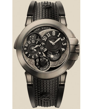 Harry Winston Ocean Collection Dual Time Monochrome