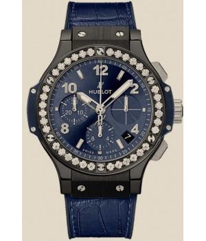Hublot Big Bang 41 MM Ceramic Blue Diamonds