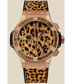 Hublot Big Bang 41 MM Leopard Gold