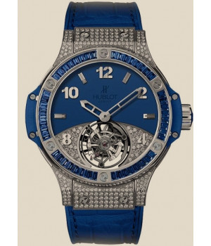 Hublot Big Bang 41 MM Tourbillon Pave