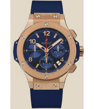 Hublot Big Bang 44 MM Rose Gold with Blue Dial