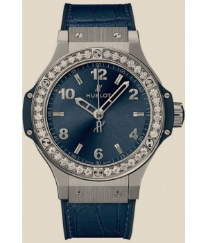 Hublot Big Bang Bang Steel Blue Diamonds 38mm
