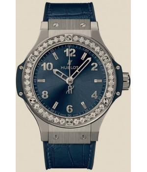 Hublot Big Bang Bang Steel Blue Diamonds 38mm