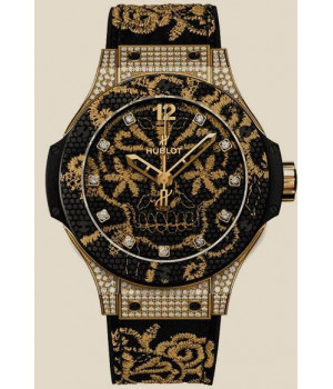 Hublot Big Bang Broderie Yellow Gold Diamonds