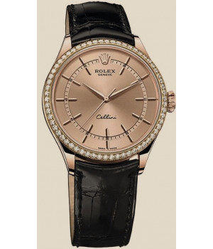 Rolex Cellini 39mm Everose Gold