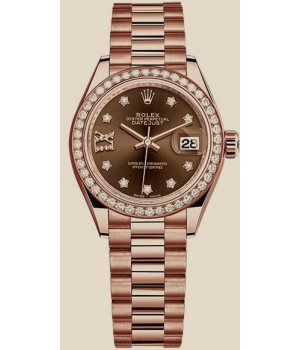 Rolex Datejust 28 mm Everose Gold