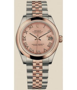 Rolex Datejust 31 mm, steel and Everose gold
