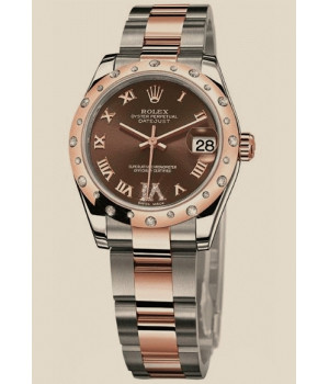 Rolex Datejust 31mm Steel and Everose Gold