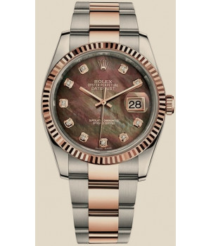 Rolex Datejust 36 mm, steel and Everose gold