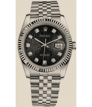 Rolex Datejust 36 mm, steel and white gold