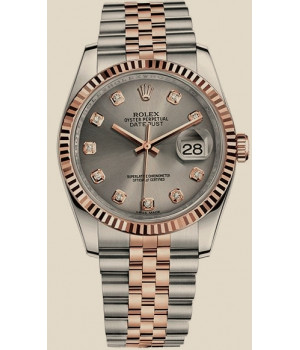 Rolex Datejust 36MM STEEL AND EVEROSE GOLD
