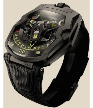"Urwerk 200 COLLECTION UR-210 Y ""Black Hawk"""