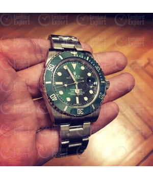 Rolex 116610lv Hulk