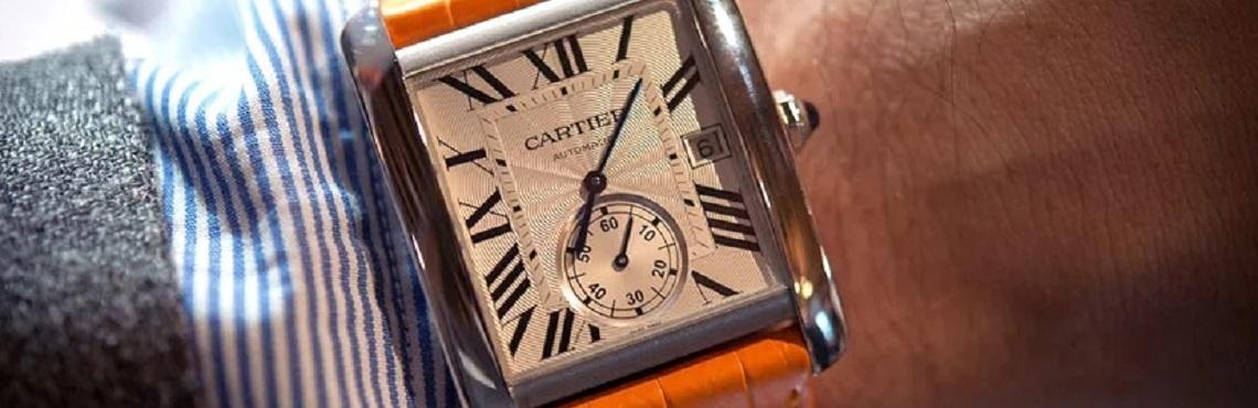 Швейцарские часы Cartier 2
