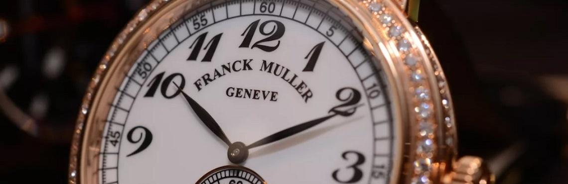 Швейцарские часы Franck Muller 3