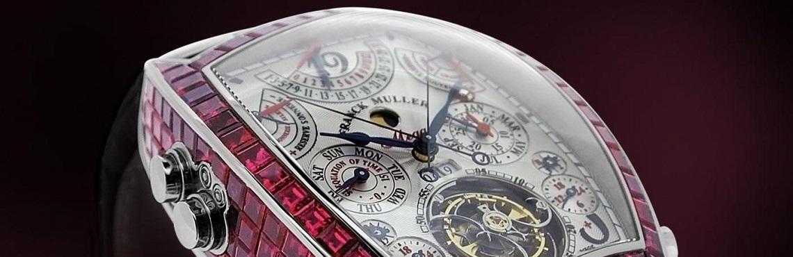 Часы Франк Мюллер купить в Москве