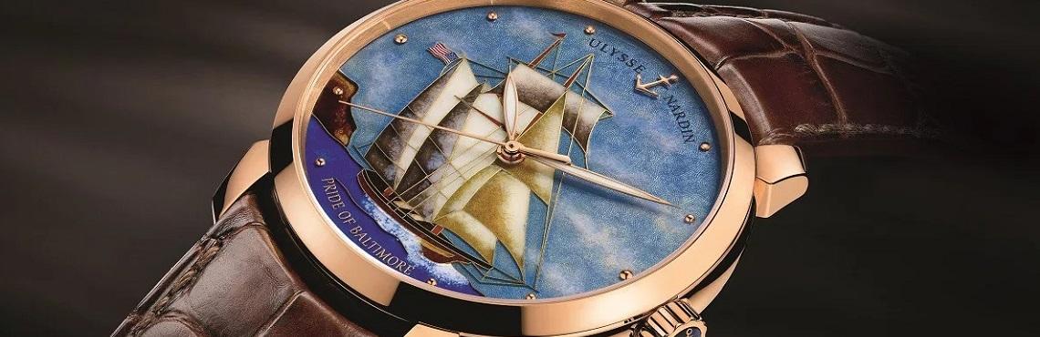 Швейцарские часы Ulysse Nardin 6