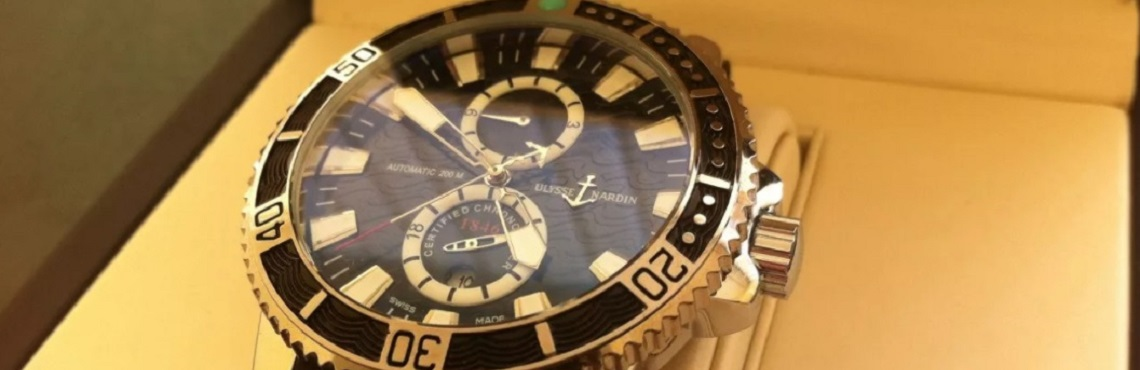 Швейцарские часы Ulysse Nardin 7