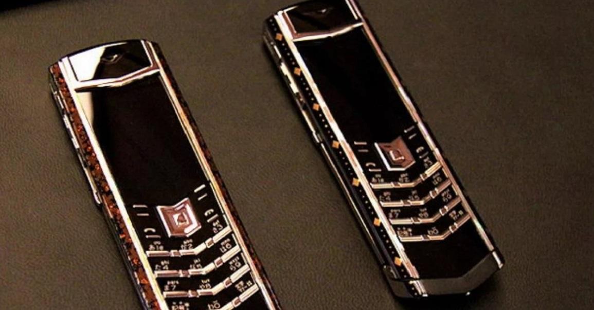Элитный телефон VERTU SIGNATURE DAIGO 3