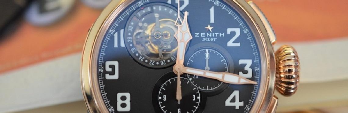Швейцарские часы Zenith 3