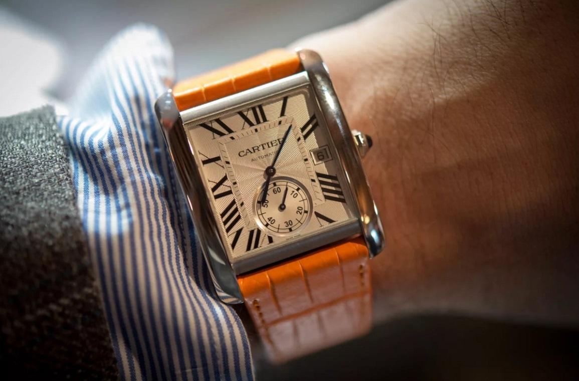 Часы от CARTIER лоты