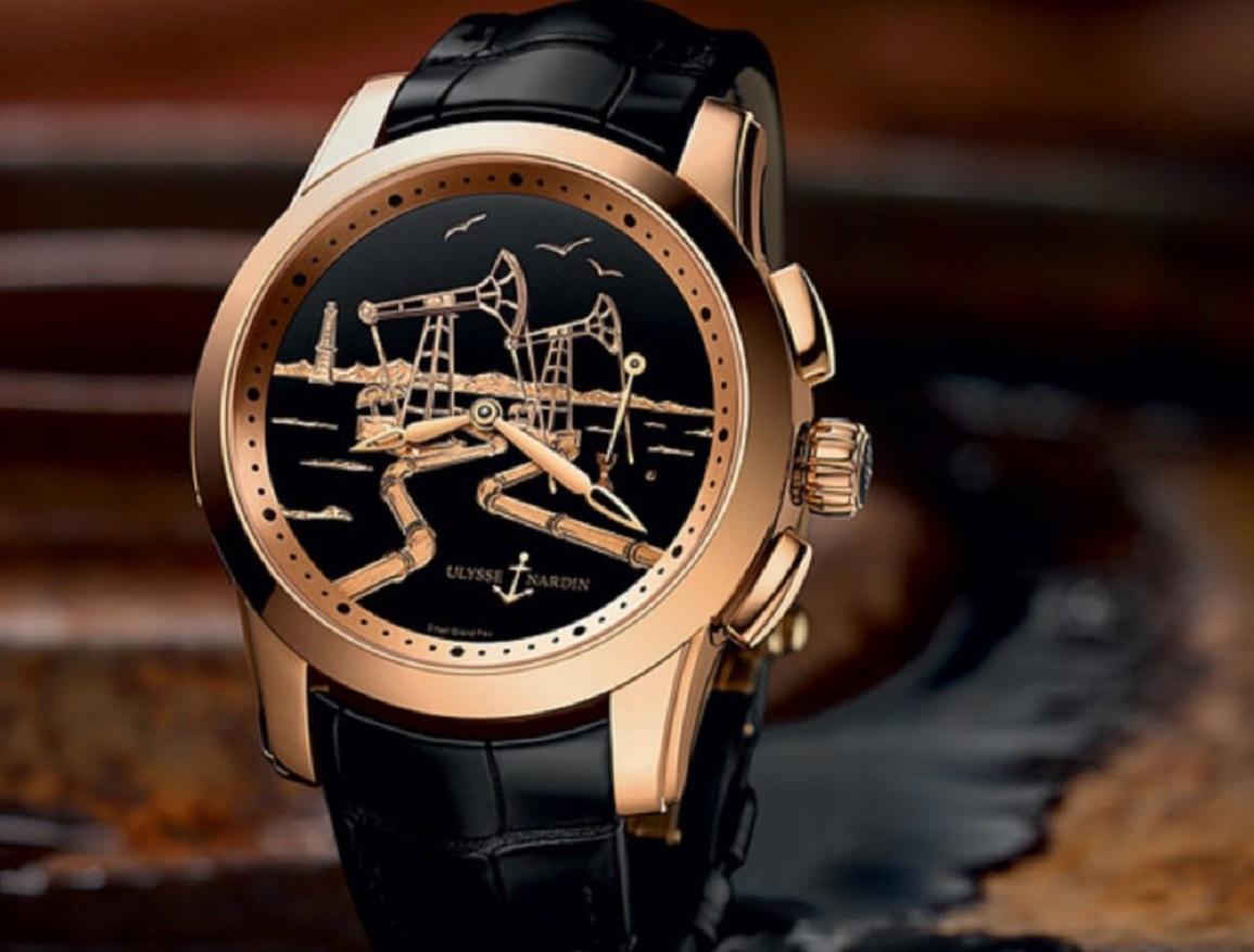 Фото швейцарских часов: Ulysse Nardin 55